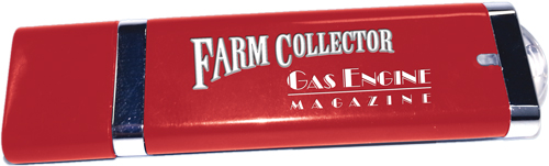 FARM COLLECTOR & GAS ENGINE MAGAZINE ARCHIVE 1951-2015 USB DRIVE