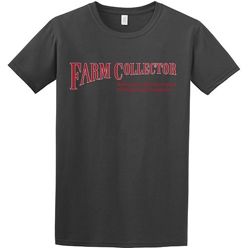FARM COLLECTOR CHARCOAL T-SHIRT - SMALL