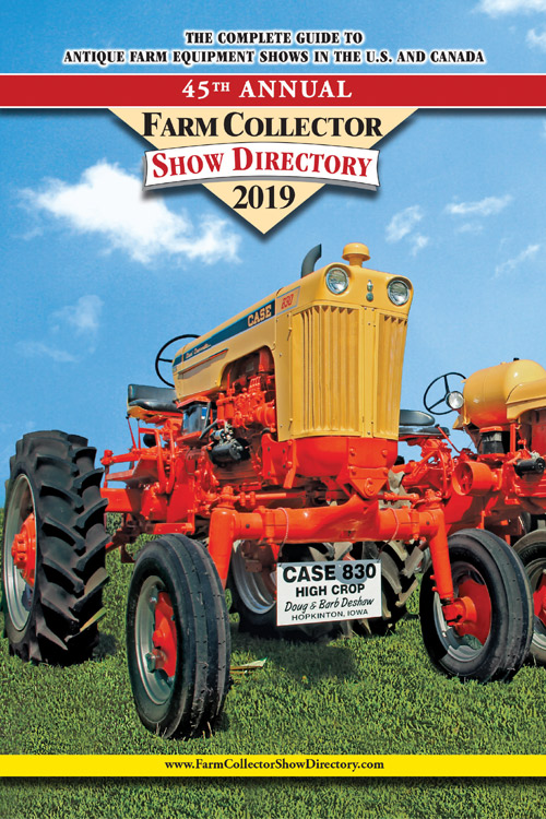 FARM COLLECTOR SHOW DIRECTORY 2019