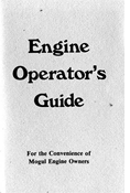 MOGUL ENGINE OPERATOR'S GUIDE E-BOOK