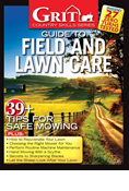 GRIT GUIDE TO FIELD AND LAWN CARE