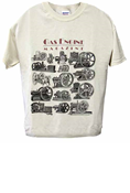 GAS ENGINE MAGAZINE SHORT SLEEVE T-SHIRT; MEDIUM