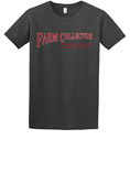 FARM COLLECTOR CHARCOAL T-SHIRT