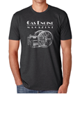 GAS ENGINE MAGAZINE CHARCOAL SHORT-SLEEVE T-SHIRT