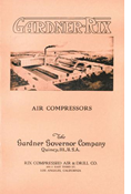 GARDNER RIX AIR COMPRESSORS 1919